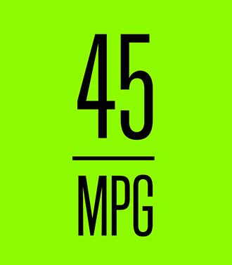 45 Mpg